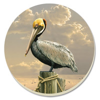 Pelican Absorbent Coasters Set of 4 By Counter Art