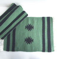 Set of 6 Southwestern Woven Wool Place Mats Made in India