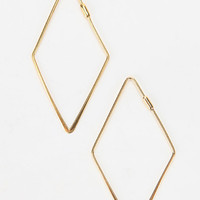 Urban Outfitters - Adina Reyter Medium Diamond Hoop Earring