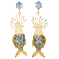 One-Of-A-Kind Alebrije Earrings | Moda Operandi