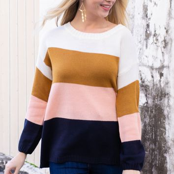 Neapolitan Block Sweater