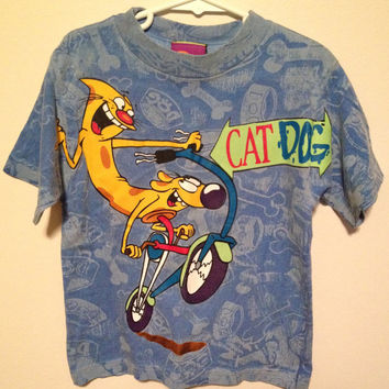ANOTHER 90's Nickelodeon CatDog shirt
