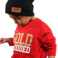 Adapt The Gold Blooded Youth Crewneck