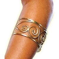 Gold Spartan Arm Cuff