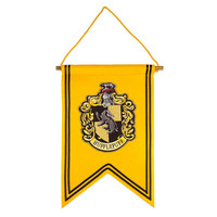 Universal Studios Harry Potter Hufflepuff House Crest Banner New with Tags