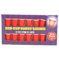Big Mouth Toys Lights Red Cup Party in Red