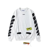 hcxx Off-White ' OFF X HEAVY ' Sweater