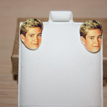 Mark Paul Gosselaar Zack Morris Saved By The Bell Earrings Television Jewelry