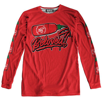 Sriracha Long Sleeve Tee