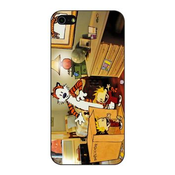 Calvin And Hobbes Surprise iPhone 5/5S/SE Case