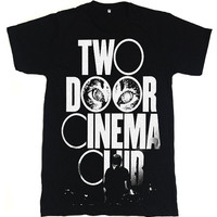 Two Door Cinema Club Logo Rock Music Band Tshirt by teetoteen
