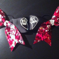 Best Friends Cheer Bow Duo