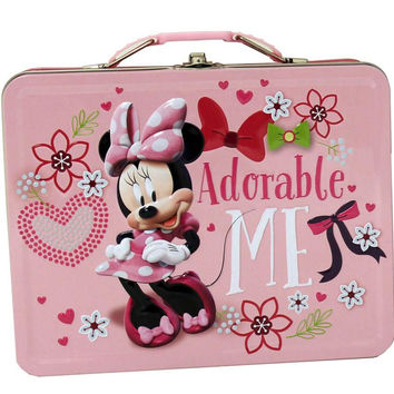 """Minnie Mouse """"Adorable Me"""" Tin Lunch Box"""