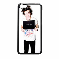 Harry Styles Love You One Direction iPhone 5c Case