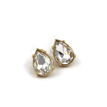 Holiday Teardrop Stud Earrings
