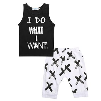 Summer Boys Clothes New Baby Boy Clothing Pattern Letter Toddler Boys Clothing Plaid Kids Clothes Children Clothing