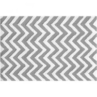 Chevron Grey Rug