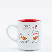 Gemma Correll Awesome Vodka Mug - Urban Outfitters