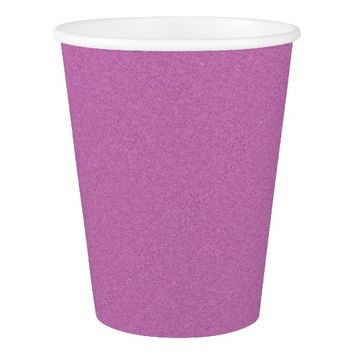 Purple Paper Cup