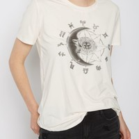 Zodiac Moon Soft Knit Tee | Graphic Tees | rue21