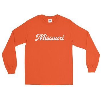 Missouri Script Long Sleeve T-Shirt
