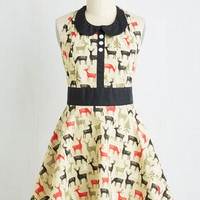 Woodland Creature Scenic Cuisine Apron by ModCloth