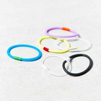 Saturday Sports Ponytail Holder Set- Assorted One