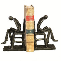 Dessau Home Reader Bookends Bronze Iron - Hc459