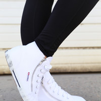 Superga Classic High-Tops {White}