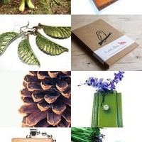 Etsy Treasuries / Walk in the Woods--Pinned with TreasuryPin.com