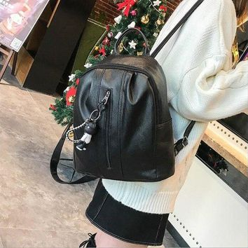 University College Backpack 2018 new European and American fashion  style travel  casual large capacity female AT_63_4