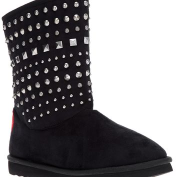 Love Moschino Studded Mid-Calf Boot