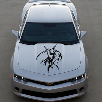 Anime Car Decal, Car Sticker Vinyl  Anime Sticker Grim Reaper Anime 10284-2