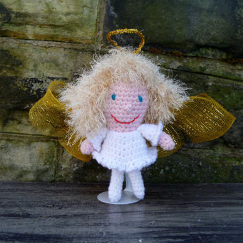 Angel Doll - Crochet Amigurumi Stuffed Animal/Doll