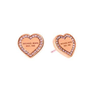 Christmas Gift for Her Accessory Stylish Heart Earrings With Christmas Gift Box [9664460431]