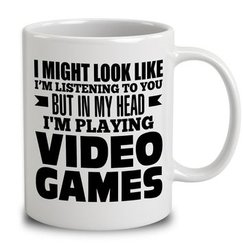 In My Head I'm Playing Video Games