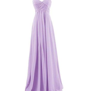 DCCKFS2 Womens Sweet Elegant Solid Color Off Shoudler Strapless Long Dress Ladies Fashion Sleeveless High Waist Evening Party Dresses