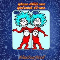 iphone 4 case,iphone 5 case,ipod touch 4 case,ipod touch 5 case,Blackberry z10,Blackberry q10--best friends,thing 1 and thing 2,in plastic
