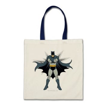 Batman Cross Arms Tote Bag