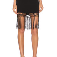Trina Turk Luciana Skirt in Black