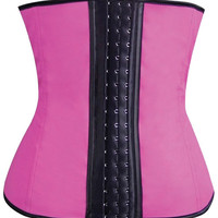 Gym Work Out Waist Trainers Hot Pink Sm