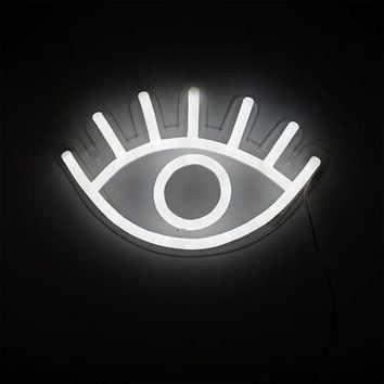 EYE LED NEON WALL LIGHT