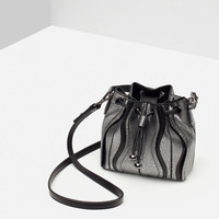 EVENING BUCKET BAG