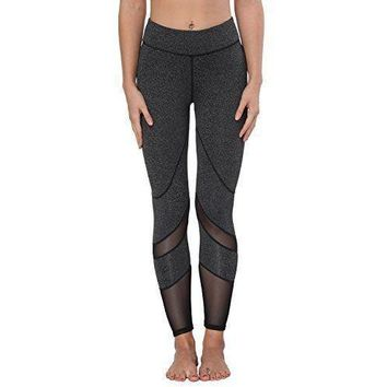 ACTIVEWEAR POWER MESH PANEL LEGGINGS