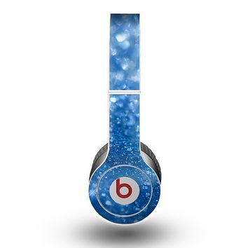 The Unfocused Blue Sparkle Skin for the Beats by Dre Original Solo-Solo HD Headphones