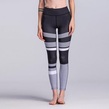 Gray Scale Breathable Leggings