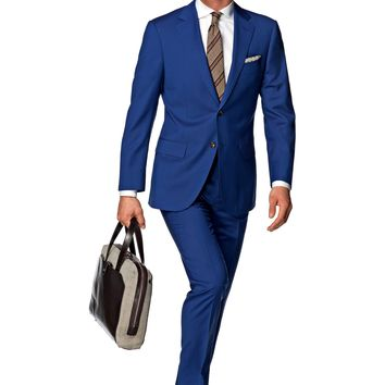 Suit Blue Plain Napoli P4272i | Suitsupply Online Store