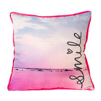 Beach Smile Decorative Pillow