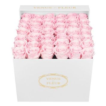 VENUS ET FLEUR - Eternity De Venus Small Square Eternity Roses