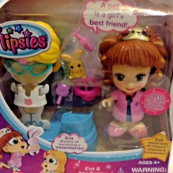VTech Flipsies Veterinarian Eva Her Bunny girls toy doll dress up gift children